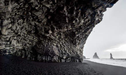 Basaltic cave