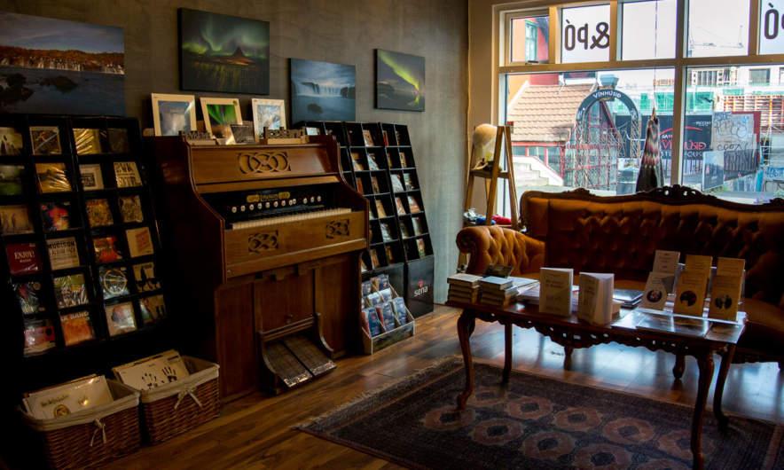 A cozy shop