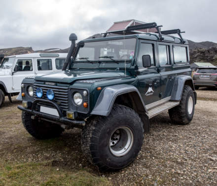 Off-road vehicle III – Land Rover Defender