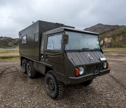 Off-road vehicle VI – Pinzgauer