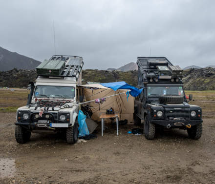 Off-road vehicle VIII – camp