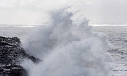 Breaking waves I