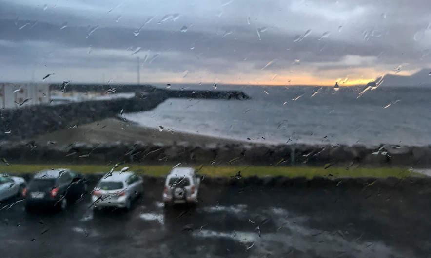 A stormy morning in Ólafsvík