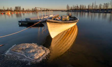 Wintry morning I – Baltic Sea