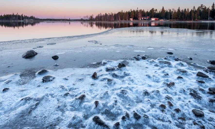 Icy coast of Skelleftehamn I