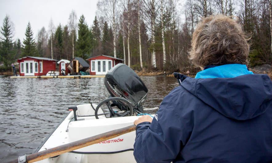 Pulling the raft I