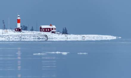 The island Gåsören