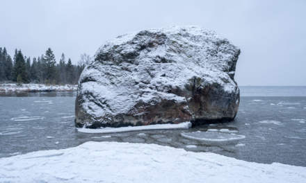 Rock – snow  – sea II