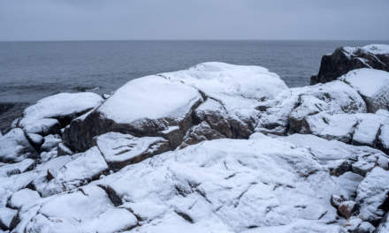 Rock – snow  – sea I