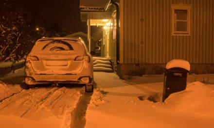 Arriving in Skelleftehamn – step two