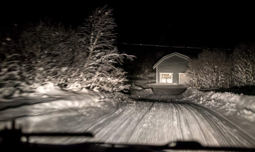 Arrival in Berg near Bjørnevatn