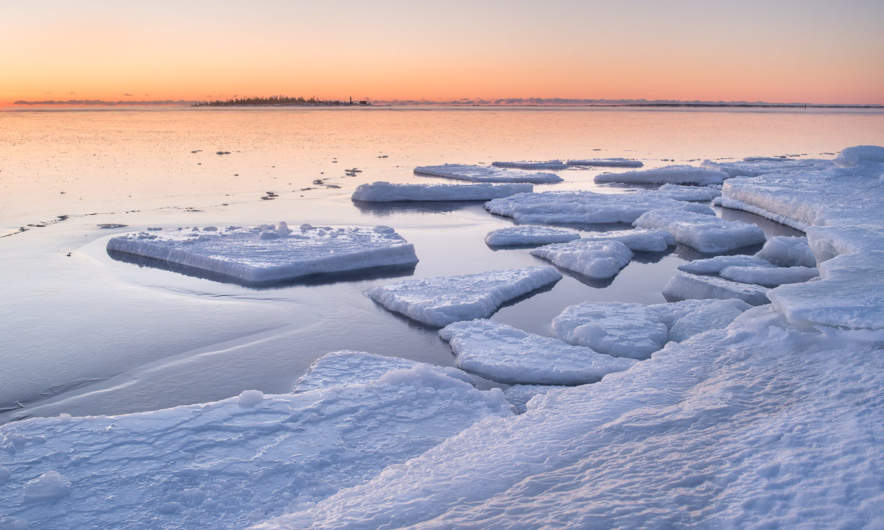 21 February The Baltic Sea is frozen again
