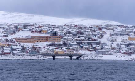 Approaching Hammerfest
