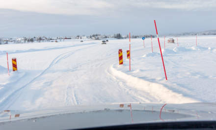 Ice road in Avan III