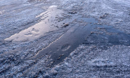 Icy roads II