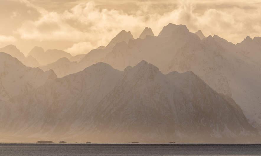 Mysterious Lofoten mountain range II