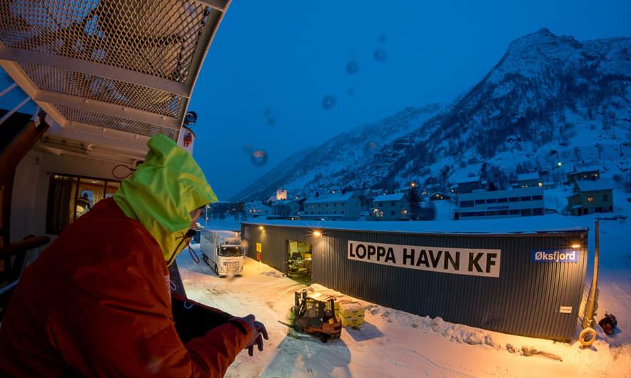 Loppa Havn, Øksfjord