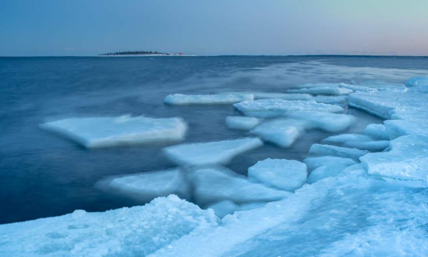20 February: the Baltic Sea round Gåsören is open