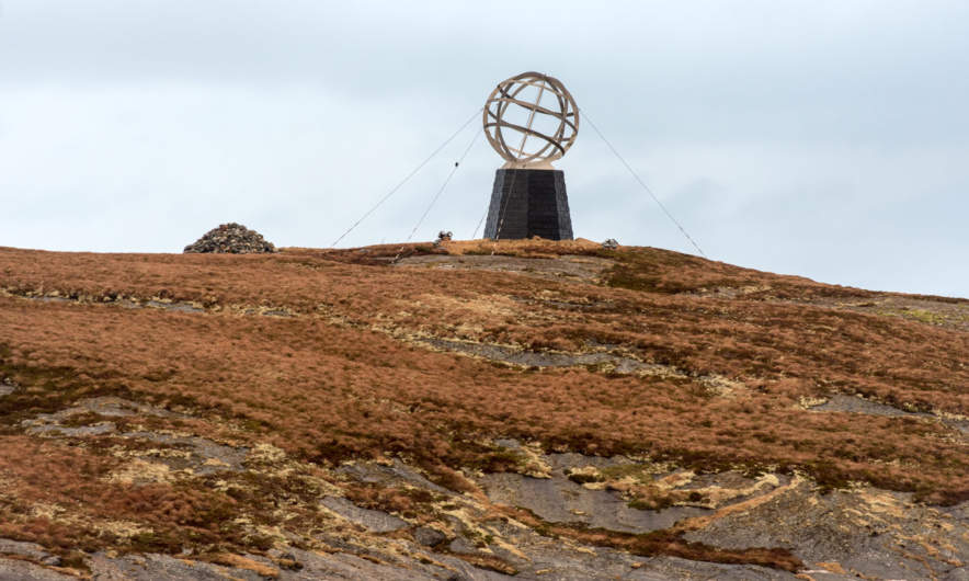 The Polar Circle Monument