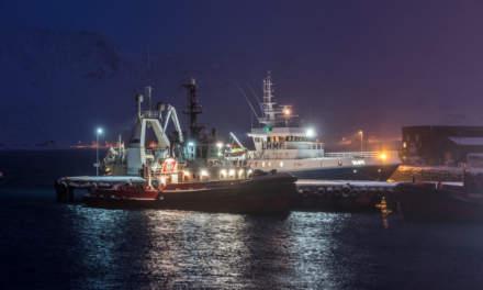 Ships in Honningsvåg