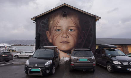 Street art in Sandnessjøen
