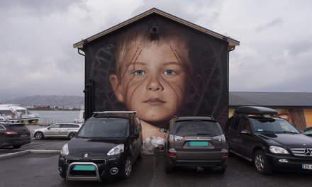 Street art in Sandnessjøen