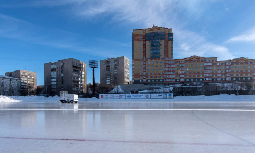 The bandy arena