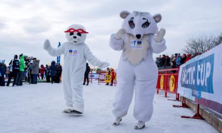 Dancing mascots