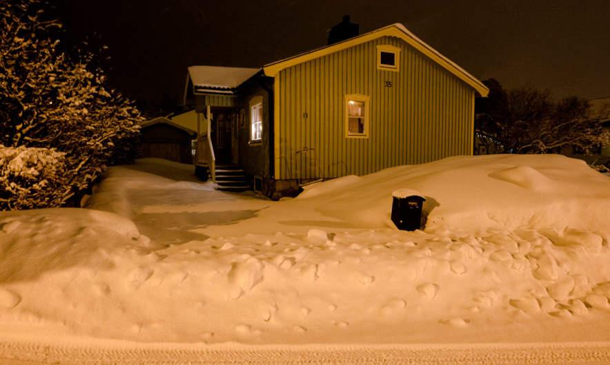 Home again in Skelleftehamn