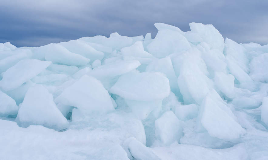 An almost secret world of ice – I