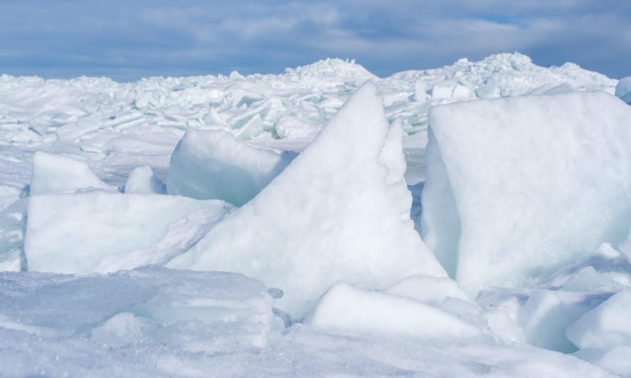 An almost secret world of ice – XII