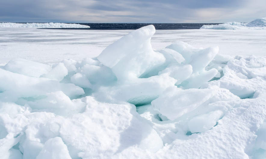 An almost secret world of ice – VI