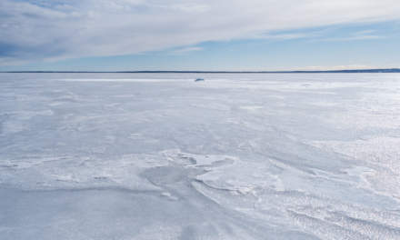 Sea ice between Bredskär and Mainland