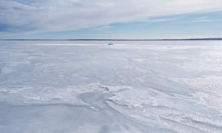 Sea ice between Bredskär and Mainland