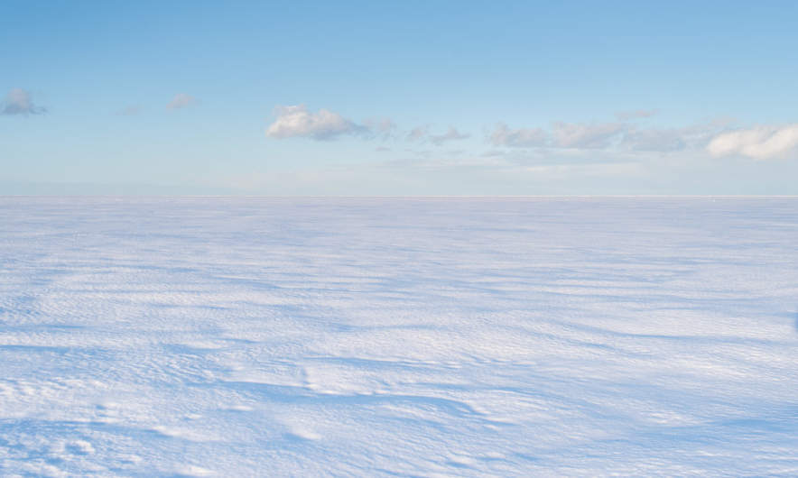 Snow and Ice on the Baltic Sea