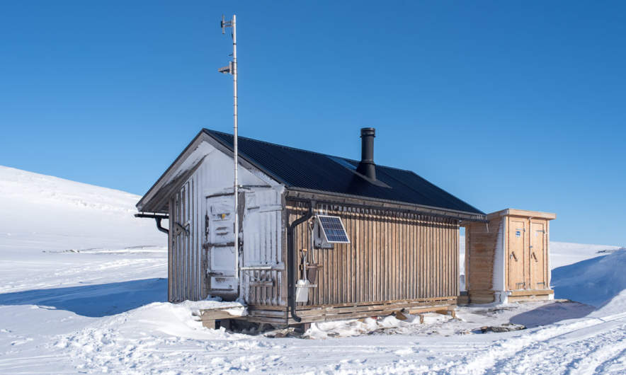 Syterskalet shelter