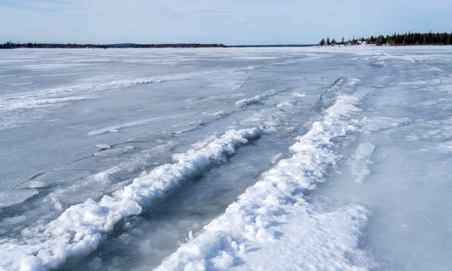 Water on the ice I