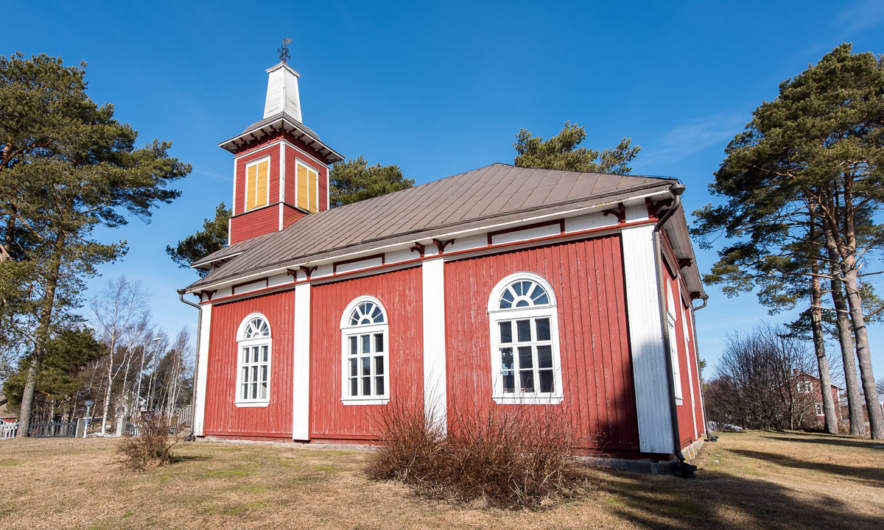 Bjørkøby church I