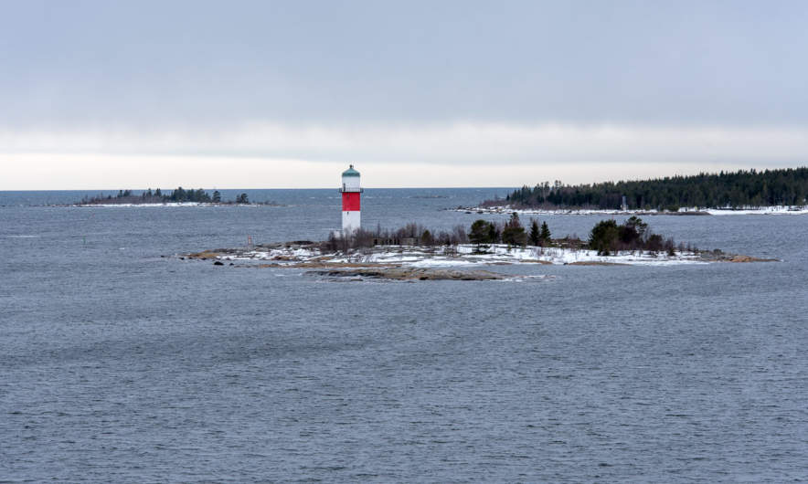 The lighthouse of Fjärdgrund