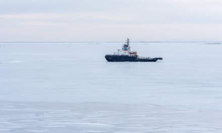 Icebound ship II