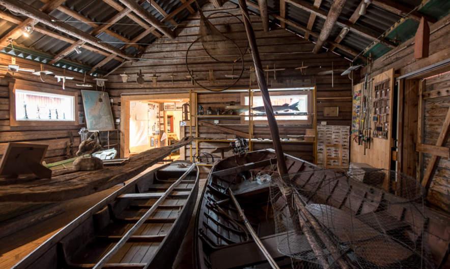 Kvarkens Båtmuseum –I