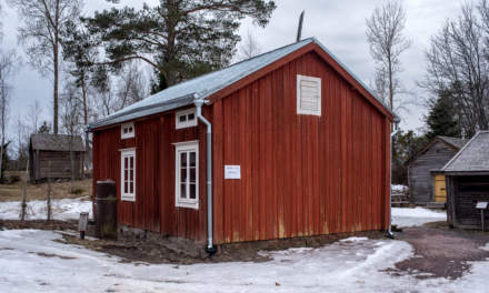 "Stundars – ""smedens stuga"", the cabin of the smith"