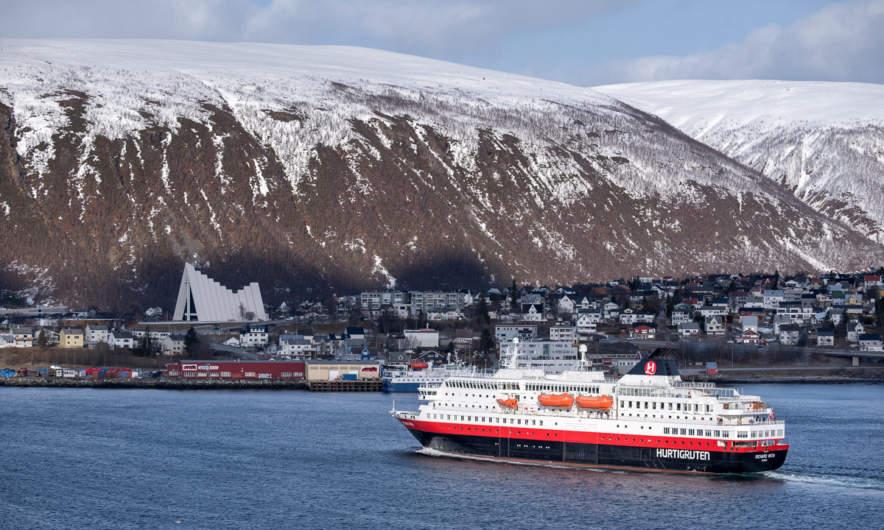 A Tromsø postcard motif