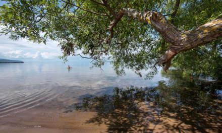 Beach in Gränna