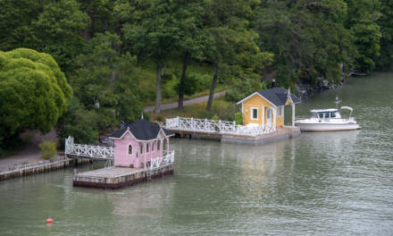 Cabins by the sea