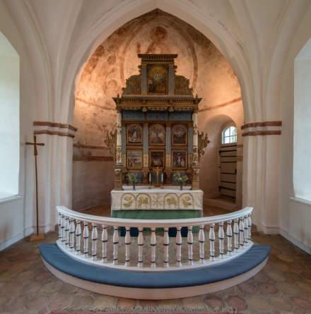 Finja church –the altarpiece