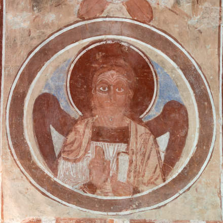 Finja church –chalk paintings II