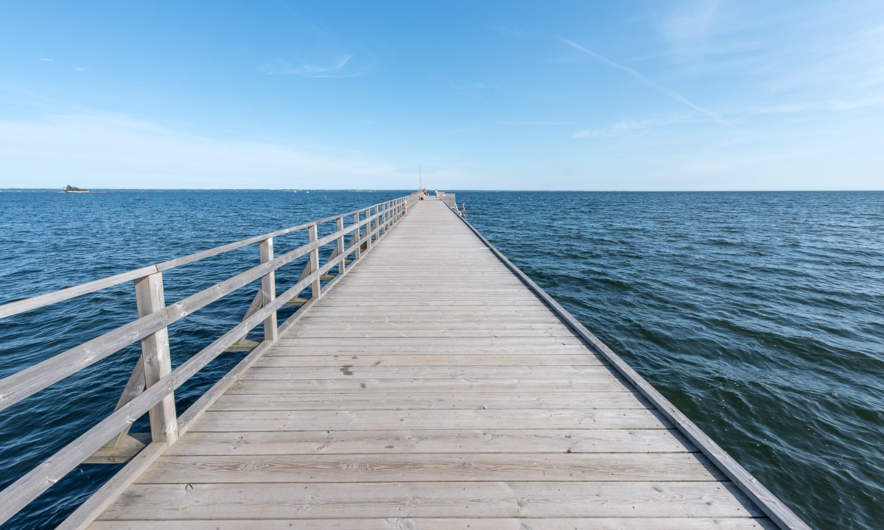 Bathing jetty in Kalmar