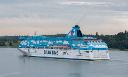 Car ferry of the Silja Line
