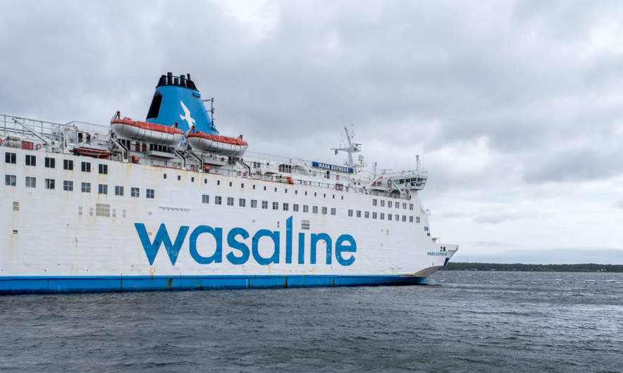 wasaline – the ferry to Vaasa/FInland